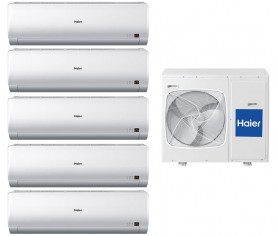 Мультисплит-система Haier 5U34HS1ERA/AS07BS4HRA/AS07BS4HRA/AS07BS4HRA/AS07BS4HRA/AS07BS4HRA